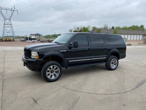 2003 Ford Excursion for sale at Prairie Wind Trailers, LLC in Harrisburg SD