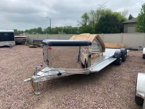 2021 Sundowner Ultra 24' Car Hauler Black for sale at Prairie Wind Trailers, LLC in Harrisburg SD
