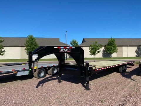 2020 Midsota ETO-30 GN Nova Gooseneck for sale at Prairie Wind Trailers, LLC in Harrisburg SD