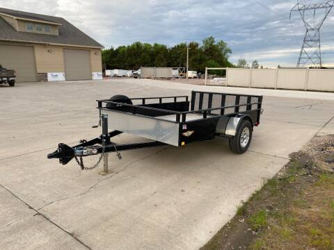 2015 H&H SS 8.5x10 (Used) Steel Utility for sale at Prairie Wind Trailers, LLC in Harrisburg SD