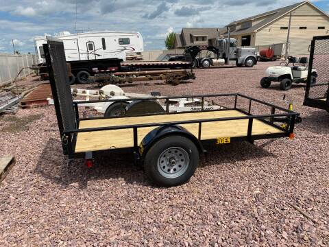 2021 Big Tex 30ES-10 Steel Utility #8037 for sale at Prairie Wind Trailers, LLC in Harrisburg SD