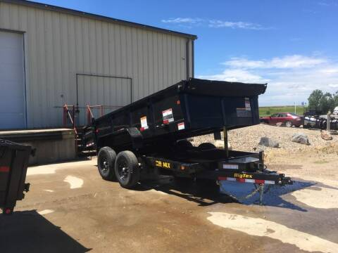 2021 Big Tex 14LX-12 Dump Trailer #7886 for sale at Prairie Wind Trailers, LLC in Harrisburg SD