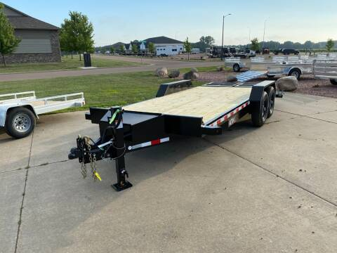 2020 Midsota Nova ET 8218 15,400 LB Rated for sale at Prairie Wind Trailers, LLC in Harrisburg SD