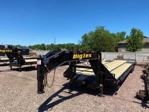 2021 Big Tex 22GN 28+5 MR 23,900 Rated#8122 for sale at Prairie Wind Trailers, LLC in Harrisburg SD
