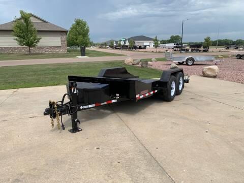 2021 Midsota SL-14 Scissor Lift Tilt for sale at Prairie Wind Trailers, LLC in Harrisburg SD