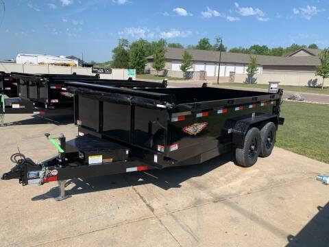 2021 H&H DBW-14 Dump Box #1576 for sale at Prairie Wind Trailers, LLC in Harrisburg SD