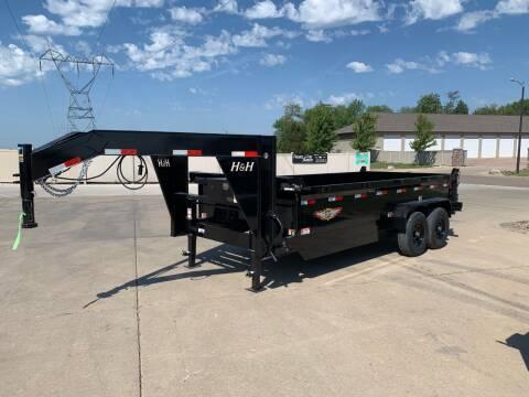 2021 H&H DBW-16 GN Dump Box #1572 for sale at Prairie Wind Trailers, LLC in Harrisburg SD