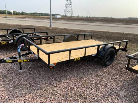 2021 Big Tex 35SA-12 #1225 for sale at Prairie Wind Trailers, LLC in Harrisburg SD