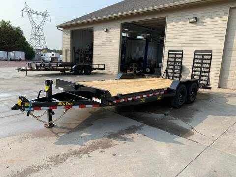 2021 Big Tex 14ET-20 #4146 for sale at Prairie Wind Trailers, LLC in Harrisburg SD