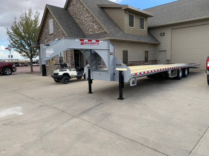 2021 Midsota FBGN-36GN HYDRAULIC TAIL #0734 for sale at Prairie Wind Trailers, LLC in Harrisburg SD