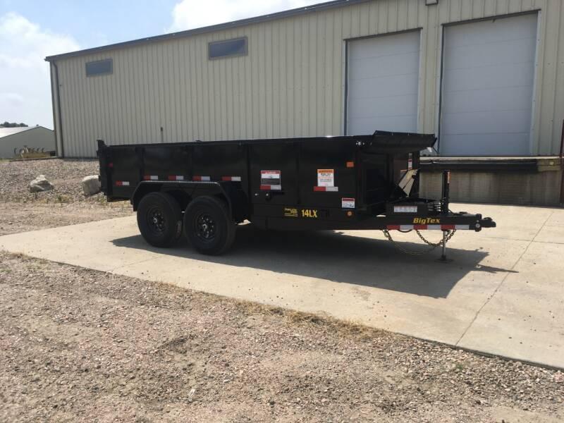 2021 Big Tex 14LX-14 Hyd Jack #2394 for sale at Prairie Wind Trailers, LLC in Harrisburg SD