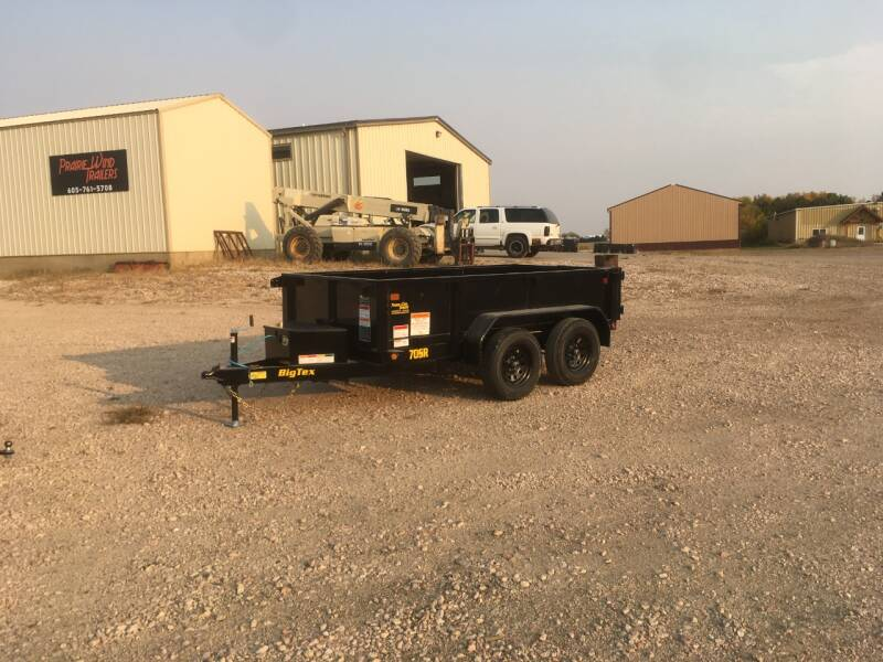 2021 Big Tex 70SR-10 #0677 for sale at Prairie Wind Trailers, LLC in Harrisburg SD