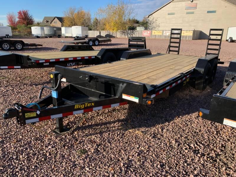 2021 Big Tex 14ET-20 Knee Ramps #9003 for sale at Prairie Wind Trailers, LLC in Harrisburg SD