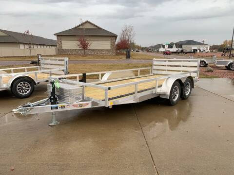 2021 H&H TRSA-18 #4981 for sale at Prairie Wind Trailers, LLC in Harrisburg SD