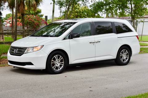 2011 Honda Odyssey for sale in Hollywood, FL