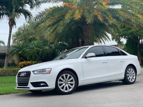 2013 Audi A4 for sale in Hollywood, FL