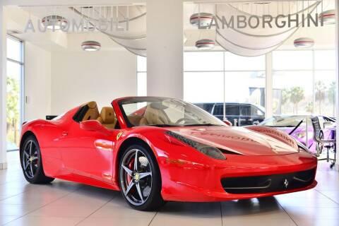 2014 Ferrari 458 Spider >> 2014 Ferrari 458 Spider For Sale In Calabasas Ca
