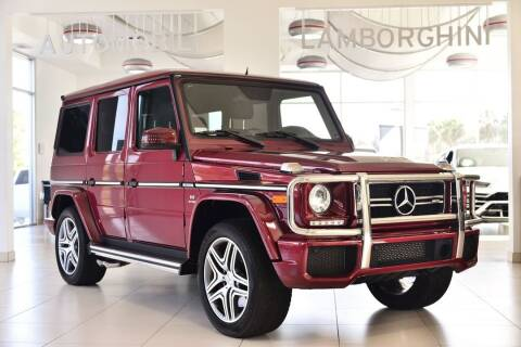 2016 Mercedes-Benz G-Class AMG G 63 for sale at Lamborghini North Los Angeles in Calabasas CA