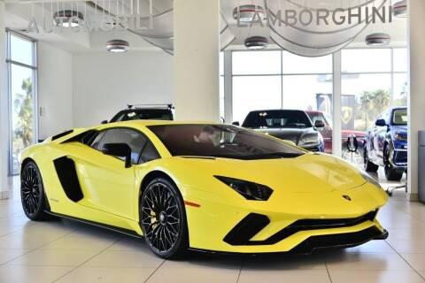 2018 Lamborghini Aventador LP 740-4 S for sale at Lamborghini North Los Angeles in Calabasas CA