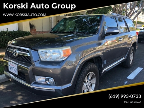 2011 Toyota 4Runner SR5 for sale at Korski Auto Group in San Diego CA