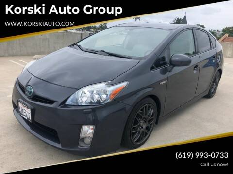 2010 Toyota Prius II for sale at Korski Auto Group in San Diego CA