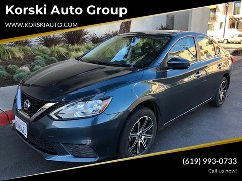 2016 Nissan Sentra SV for sale at Korski Auto Group in San Diego CA