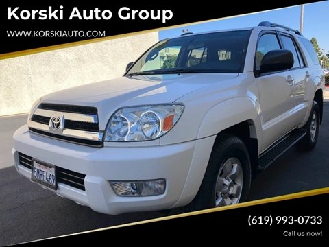 2005 Toyota 4Runner Sport Edition for sale at Korski Auto Group in San Diego CA