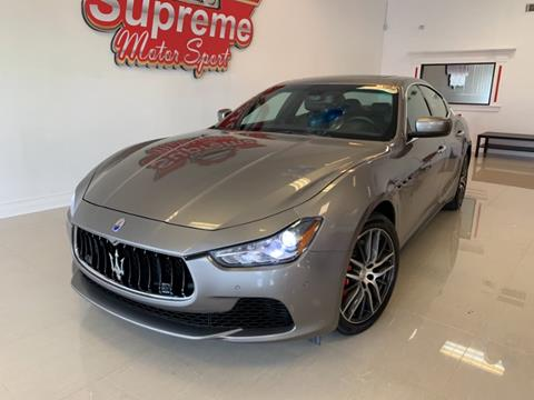 2015 Maserati Ghibli for sale in Linden, NJ