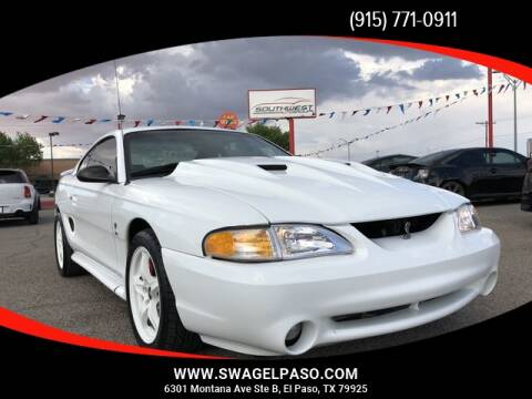 1998 Ford Mustang SVT Cobra for sale in El Paso, TX