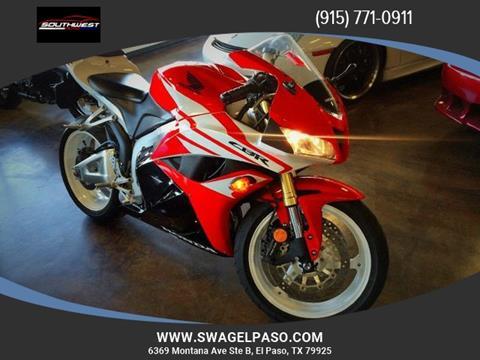 2012 Honda CBR600RR for sale in El Paso, TX