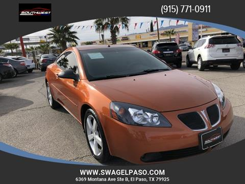 2006 Pontiac G6 for sale in El Paso, TX