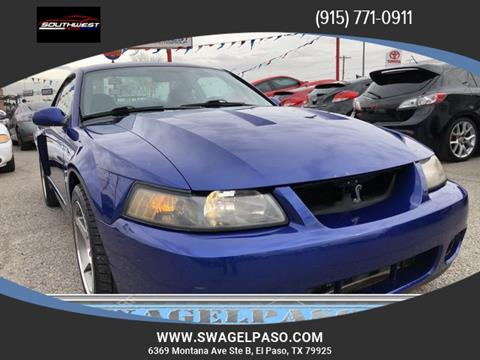 2003 Ford Mustang SVT Cobra for sale in El Paso, TX