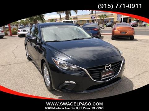 Mazda El Paso >> 2016 Mazda Mazda3 For Sale In El Paso Tx