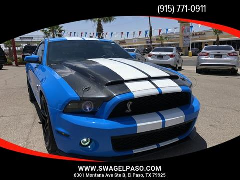 2010 Ford Shelby GT500 for sale in El Paso, TX