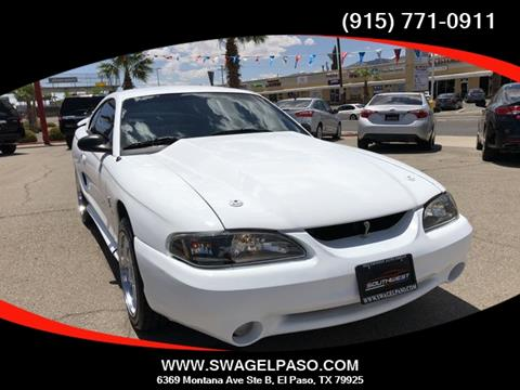 1997 Ford Mustang SVT Cobra for sale in El Paso, TX