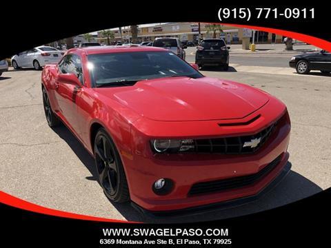 Chevrolet El Paso >> 2010 Chevrolet Camaro For Sale In El Paso Tx