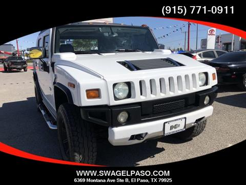 2005 HUMMER H2 SUT for sale in El Paso, TX