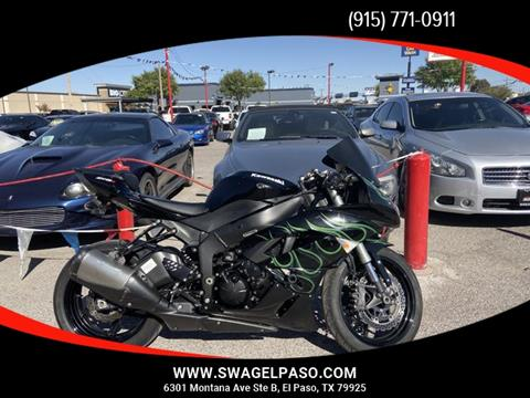 2011 Kawasaki Ninja ZX-6R for sale in El Paso, TX