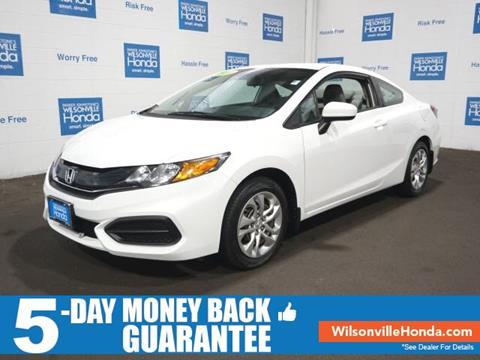 2014 Honda Civic for sale in Wilsonville, OR