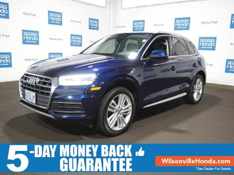 2018 Audi Q5 for sale in Wilsonville, OR
