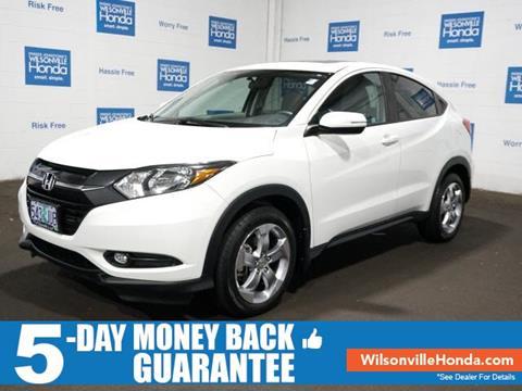 2016 Honda HR-V for sale in Wilsonville, OR