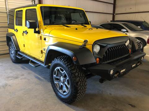 2008 Jeep Wrangler Unlimited for sale in Granbury, TX