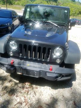 2015 Jeep Wrangler Unlimited for sale in Mc Calla, AL