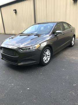 2016 Ford Fusion for sale in Mc Calla, AL