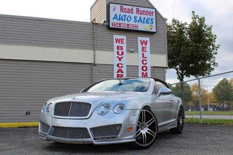 Road Runner Auto Sales >> Bentley Continental For Sale In Wayne Mi Road Runner Auto