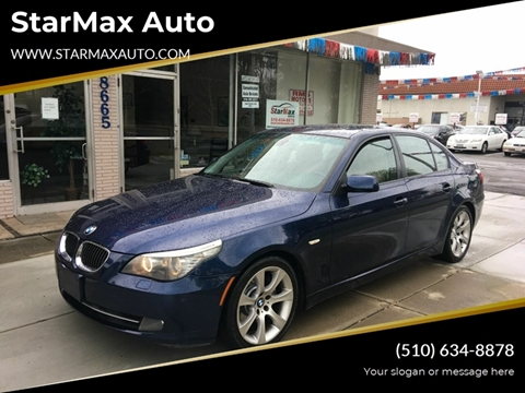 2008 BMW 5 Series for sale at StarMax Auto in Fremont CA