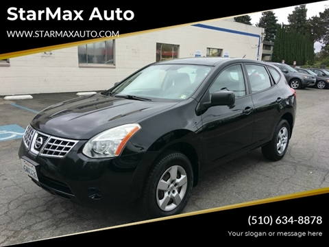 2009 Nissan Rogue for sale at StarMax Auto in Fremont CA