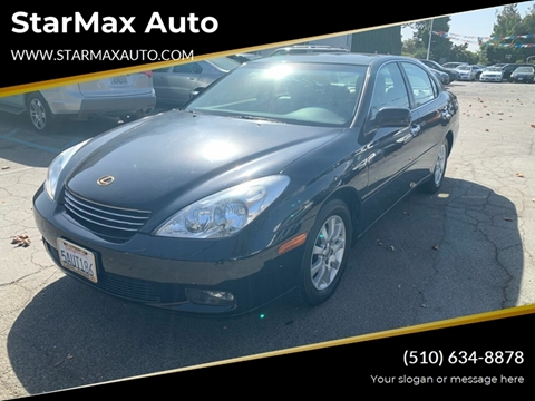 2003 Lexus ES 300 for sale at StarMax Auto in Fremont CA