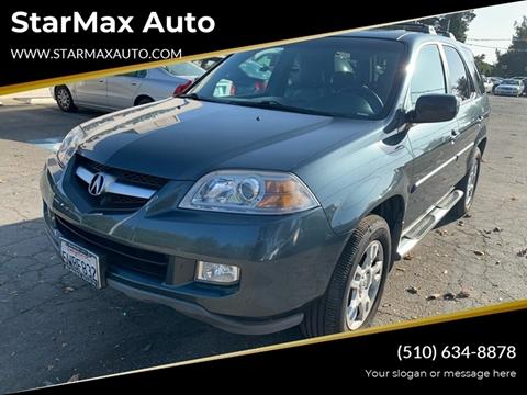 2006 Acura MDX for sale at StarMax Auto in Fremont CA