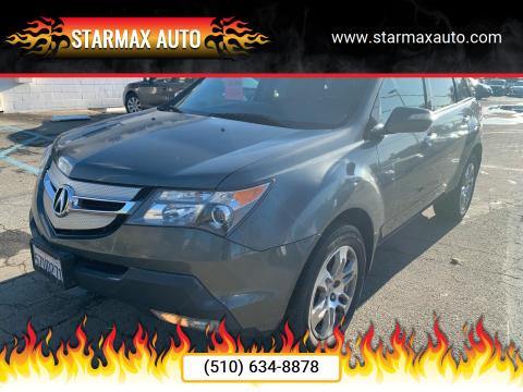 2007 Acura MDX for sale at StarMax Auto in Fremont CA